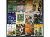 HISTORY TODAY Magazines - massive bundle of approx 190+ magazines - inc. BBC History
