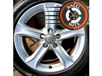 "17"" Genuine Techniks alloys Audi VW Caddy Golf excel cond excel tyres."
