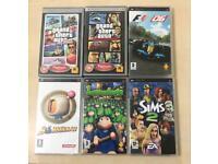 PSP games bundle £25