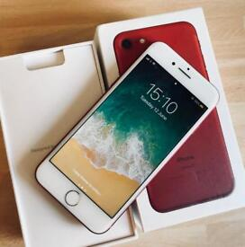 Apple iPhone 7 product red 128gb unlocked
