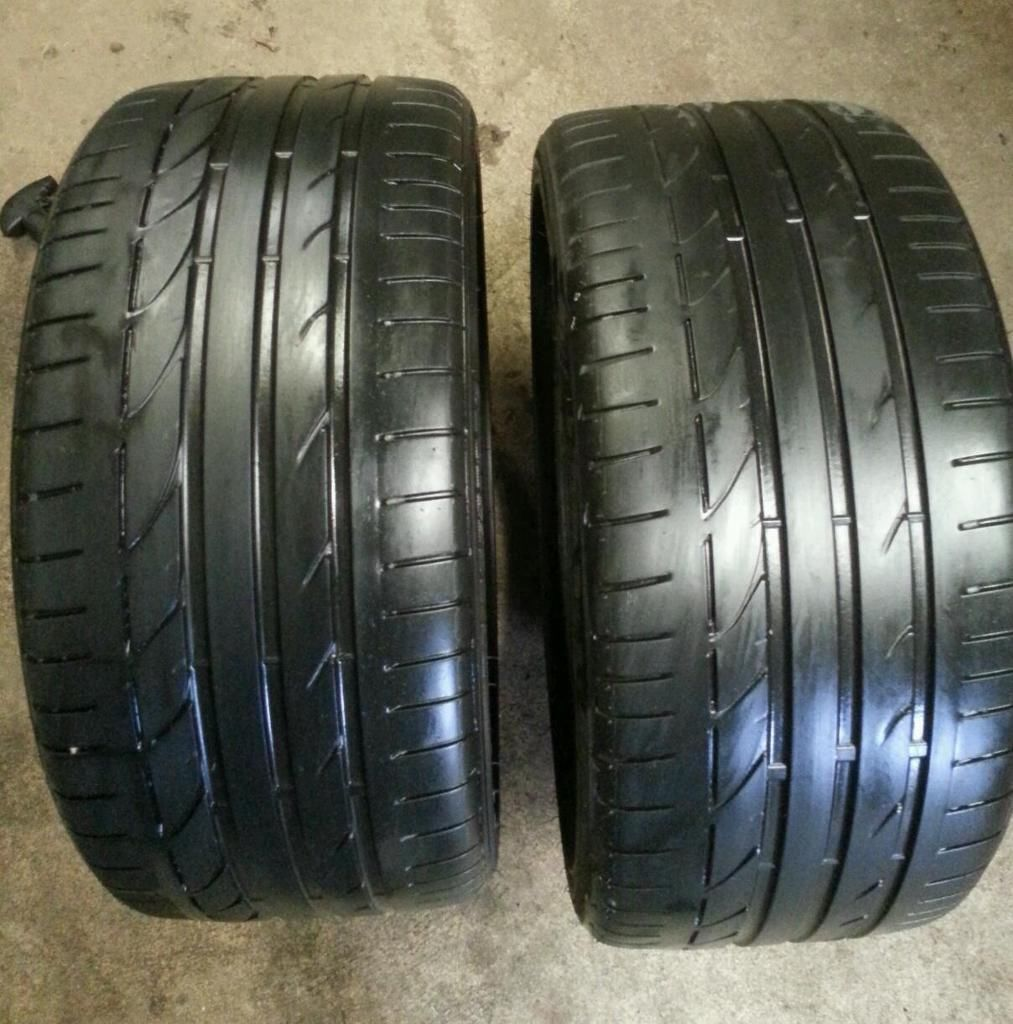 255 35 19 bridgestone potenza s001 run flat tyres for sale in peterhead aberdeenshire gumtree. Black Bedroom Furniture Sets. Home Design Ideas