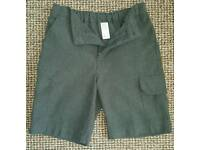 Age 10 Grey School Shorts