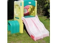 Little Tykes Play Cube Double Slide