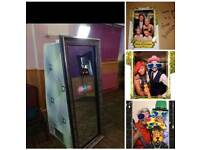 Magic mirror (photo booth) weddings birthdays parties events corporate