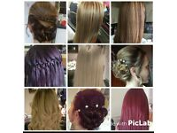 Hair and extensions by Anthea at Studio Em