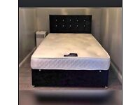 Divan beds with one year warranty