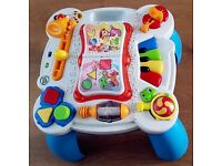 Leapfrog music activity table