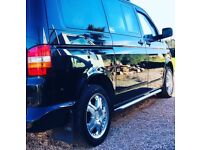 "VW T5 Transporter genuine sportline borbet CWB 18"" alloy wheels and tyres SWAP"