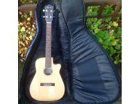 Clearwater electro acoustic baratone ukulele