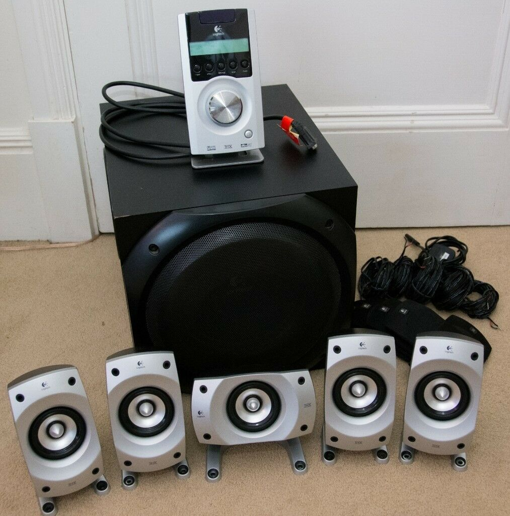 373d9040c70 Logitech Z 5500 computer speakers, THX certified, 5.1 with sub-woofer, in  great condition