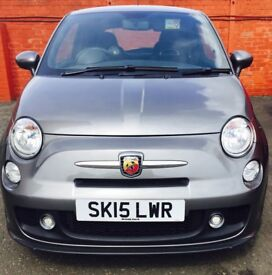 ABARTH 500 - IMMACULATE CONDITION, FULL LEATHER, FULL SERVICE HISTORY, 1 OWNER