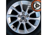 "16"" Genuine Audi A3 alloys Golf Caddy Leon excel cond."