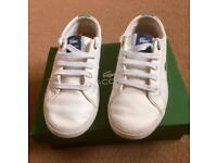 BOYS LACOSTE TRAINERS