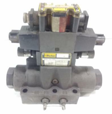 Parker Hydraulic Directional Control Valve D61vw3c4nycf567 D1vhw4cnycf56