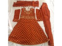 Girls Indian/Pakistani suits different sizes