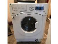 7KG HOTPOINT BHWDD74 DIGITAL INTEGRATOR WASHER & DRYER 3 MONTH WARRANTY, FREE INSTALLATION