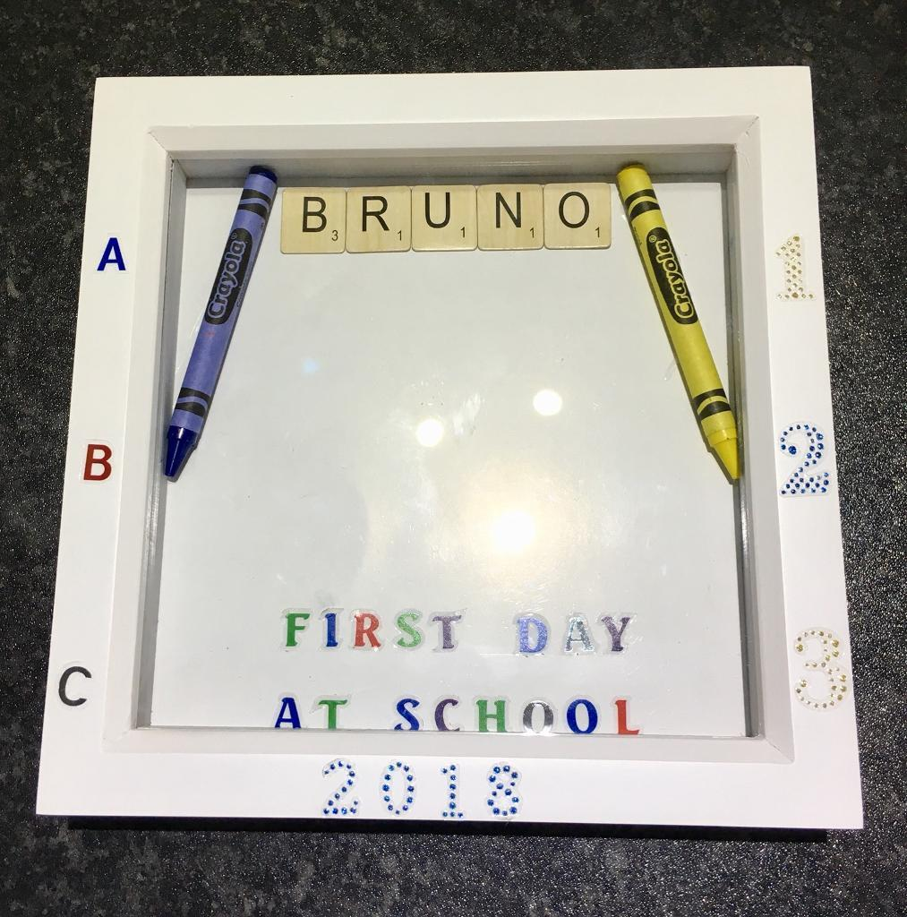 First day at school/nursery box frame | in Wigan, Manchester | Gumtree