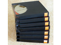 """5 (or 10/25/50) x 7"""" Reel to Reel extended play 1,800' metal spooled audio tapes - Little used"""