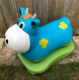 Moo cow hopper/ride-on