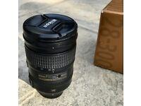 Nikon AF-S Nikkor 28-300 VR G Zoom Lens, mint condition + Box + Hoya HD UV Filter Protector