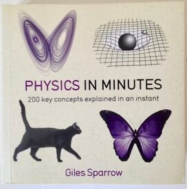 Physics In Minutes - 200 concepts explained in an instant