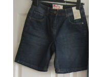Ladies Shorts, sizes 8, 10 and 12, some NEW. £1 - £2.50 each