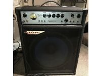 Ashdown Mag250 Amplifier Made UK With SX Bass Guitar black 4 string +Padded case