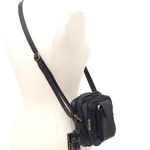 Leather-Travel-Clutch-Shoulder-Belt-Camera-Bag-Purse-NW