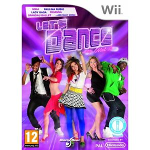LETS DANCE WITH MEL B Wii BRAND NEW & FACTORY SEALED!