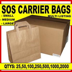 Buy small brown paper bags