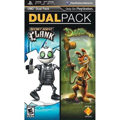 Daxter And Secret Agent Clank Psp Umd Dual Pack 2 Games Sealed