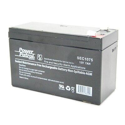 12v 7ah Sealed Lead Acid Home Security Alarm Battery Replaces 7.2ah / 8ah