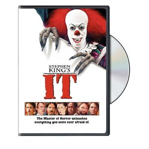 IT DVD STEPHEN KING SEALED R4 AUS COMPAT PENNYWISE CLOWN HORROR KING'S KINGS NEW