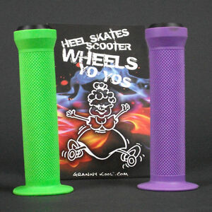 GK-Scooter-Handlebar-Grips-Combo-Purple-Green-bar-ends