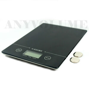 EK9150-Glass-Slim-Digital-Kitchen-Scale-11-lbs-x-0-1oz-Food-Postal-5kg-x-1g