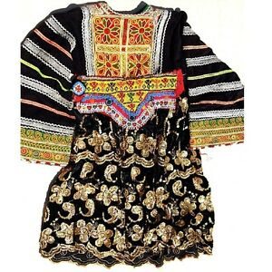 YOUTH-28-long-Belly-Dance-Tribal-DRESS-Kuchi-780t10