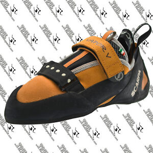 SCARPA-70031-MENS-NIB-VAPOR-V-ROCK-CLIMBING-BOULDERING-SHOES-EU-40-MADE-IN-ITALY