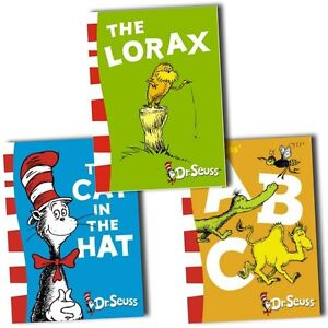 Dr-Seuss-Collection-3-Books-Set-Pack-ABC-Cat-in-the-hat-The-Lorax-Movie-New-HB
