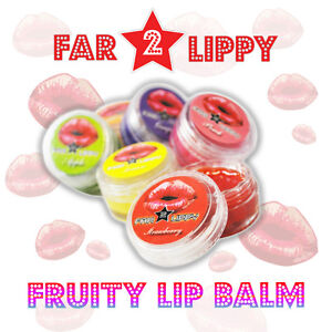 Far 2 Lippy - Lip Balm | 24 Pack | Fruity Flavours Wholesale