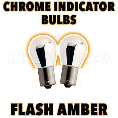 2x Chrome Indicator Bulbs DAEWOO LACETTI ALL MODELS o