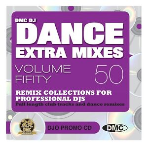 DMC Dance Extra Mixes 50 2012 Monthly DJ Only Compilation CD