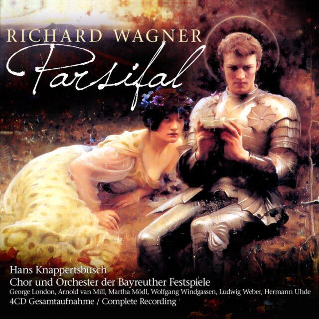 CD Parsifal von Richard Wagner mit Orchester Bayreuther Festspiele 4CDs