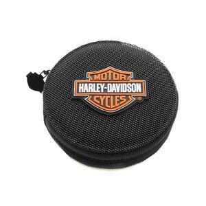 Harley-Davidson-Genuine-24-CD-DVD-Case-Wallet-Holder