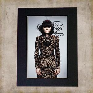 JESSIE J Signed & Mounted Autograph Photo Print (A5)