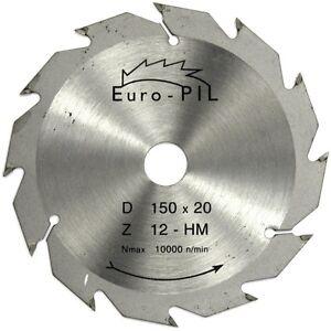 150mm tct circular saw blade 150 x 20 12t ebay