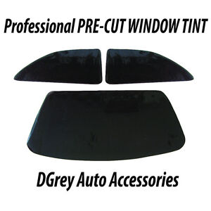 Pre-Cut Window Tint - VAUXHALL CORSA B – Limo Black 4%