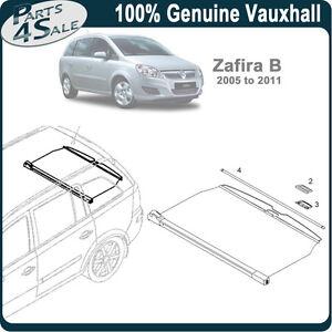 Vauxhall Zafira Boot Cover Ebay