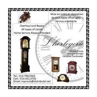 Professional Clock Repair - All type of clocks