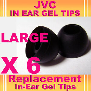 6-JVC-In-Ear-Buds-HeadPhones-Headset-Earphones-Gel-Tips-Large