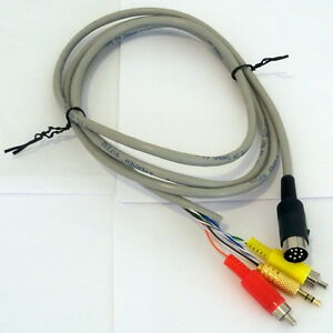 diy 8 pin din cable for bose acoustimass am9p amp. Black Bedroom Furniture Sets. Home Design Ideas